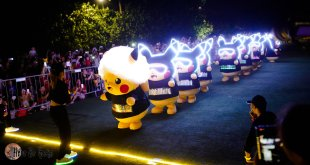 Pikachu Night Parade in Sentosa