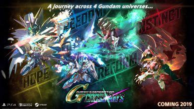 Photo of SD Gundam G Generation Cross Rays coming in 2019