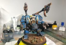 Photo of Kitbashed Dreff dread from AOBR Dreadnought