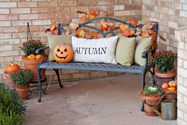 Home Decor Warm Table Design With Autumn Decorating Ideas Great Tips For Fall