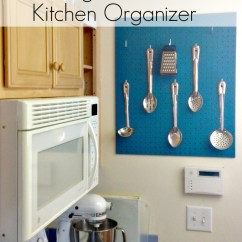 Pegboard Kitchen Outdoor Kits For Sale Diy Organizer Kelly Leigh Creates