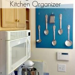 Pegboard Kitchen Remodel Design Cost Diy Organizer Kelly Leigh Creates