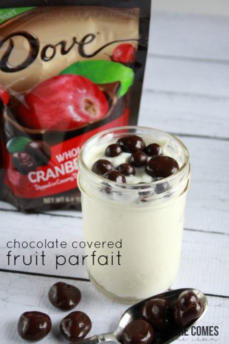 Chocolate Covered Fruit Parfait Here Comes The Sun