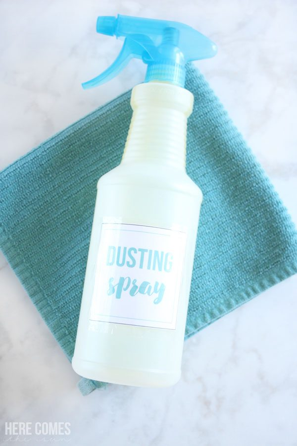 kitchen cabinet cleaner recipe templates 4 ingredient diy dusting spray | here comes the sun