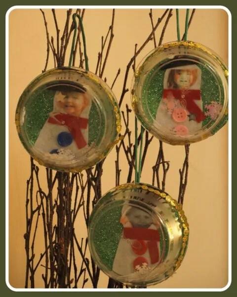 Snow Globe Christmas Ornaments