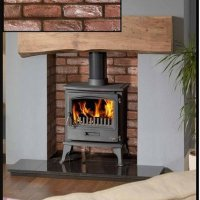 Stone Cladding surrounds for wood Burners - Hereford Brick ...