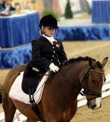 Stinna Tange Kaastrup riding Labbenhus Snoevs at WEG