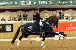 Charlotte Dujardin and Valegro. Photo Kevin Sparrow