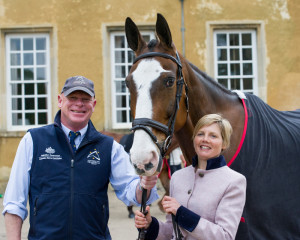 Mr Potts, Louise Harwood's horse, was named after Mr Potts the vet!