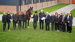 Shropshire Based Stallion AI Services is the first equine business to win the Regional Chamber of Commerce Award and become National Finalist