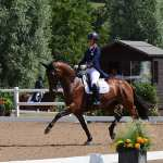 Olympic superstar Charlotte Dujardin shines on day two of the Hartpury Festival of Dressage