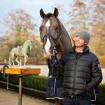 Thumbs up from Carl and Charlotte mean full steam ahead for Newent Valegro Sculpture Project