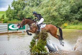 Piggy French with BROOKFIELD INOCENT, 2nd in the 4*