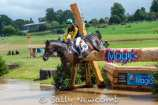 Worcestershire rider Nicky Hill makes the 4* water look easy