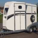 Bateson Ascot front unload double horse trailer with lockable tack cupboard – Black stripe edition £4945.00+ VAT