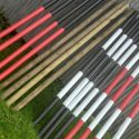 16 Wooden Showjumping poles