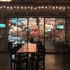 Enclosed patio at Cottonwood Bar