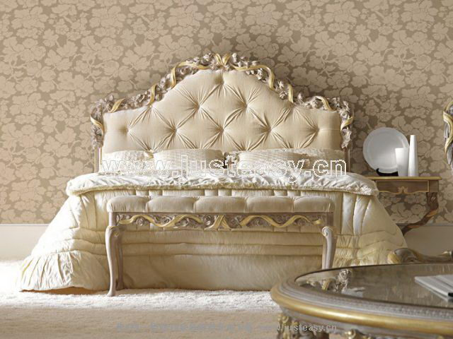 Boloni 3D model of the classicalbed including materials
