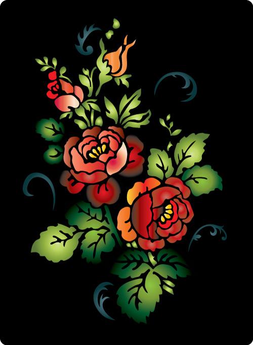 Palabras clave arte colorido folk fotografa flores flores arabescos aves patrn