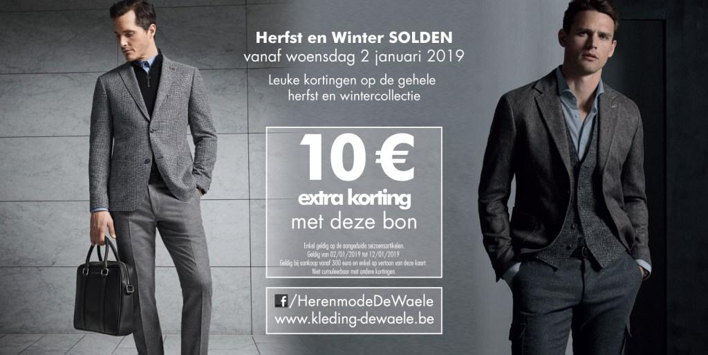 SOLDEN Herfst en Winter collectie 2018-2019