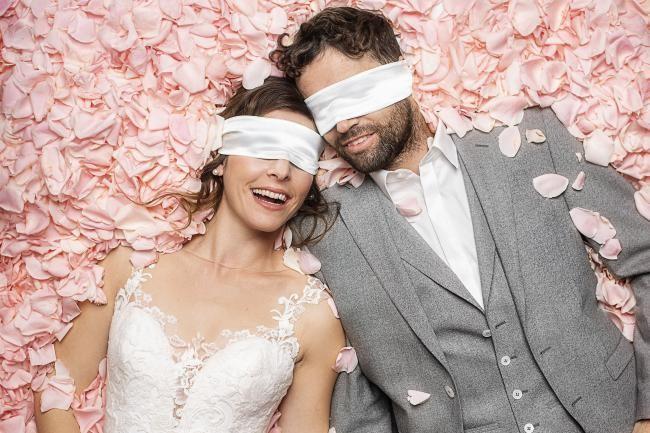 Blind getrouwd 2018