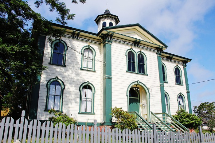 Hitchcock house in Bodega Bay