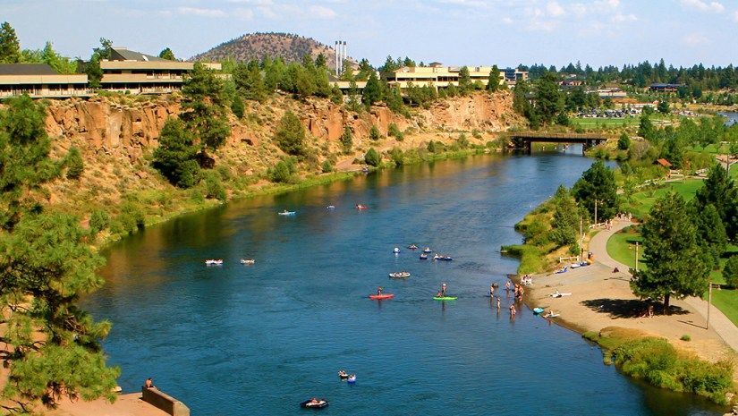 Bend, Oregon - Deschutes River