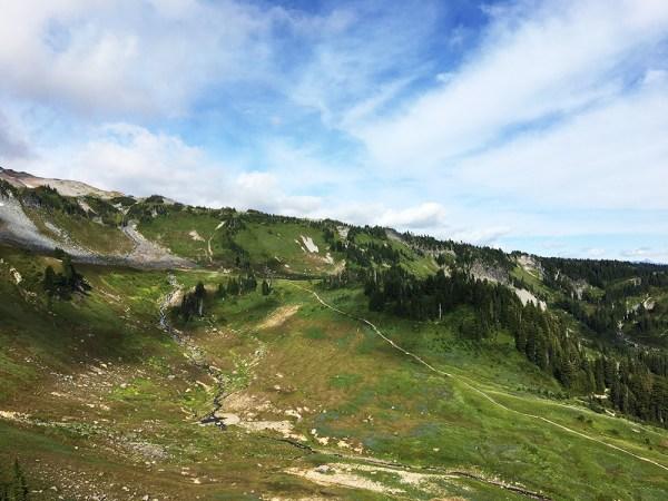 Mt. Rainier - Hiking the Alta Vista Trail
