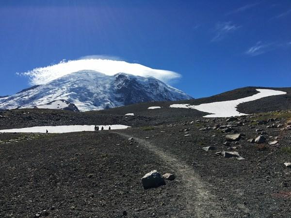 Burroughs Mountain Trail to Frozen Lake