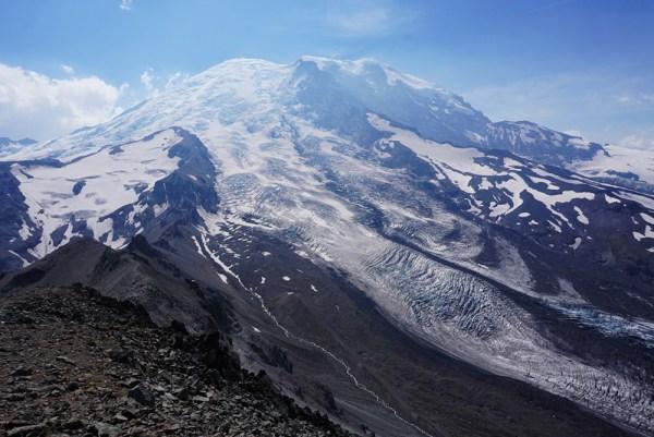 Mt. Rainier - Hiking Burroughs Mountain Trail