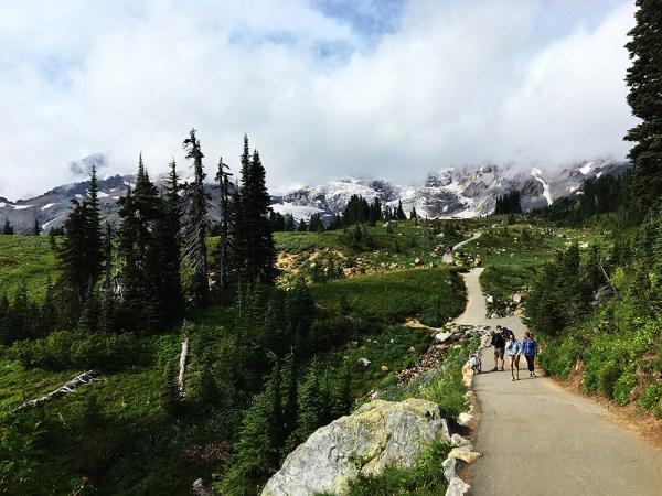 Skyline Trail in Mt. Rainier