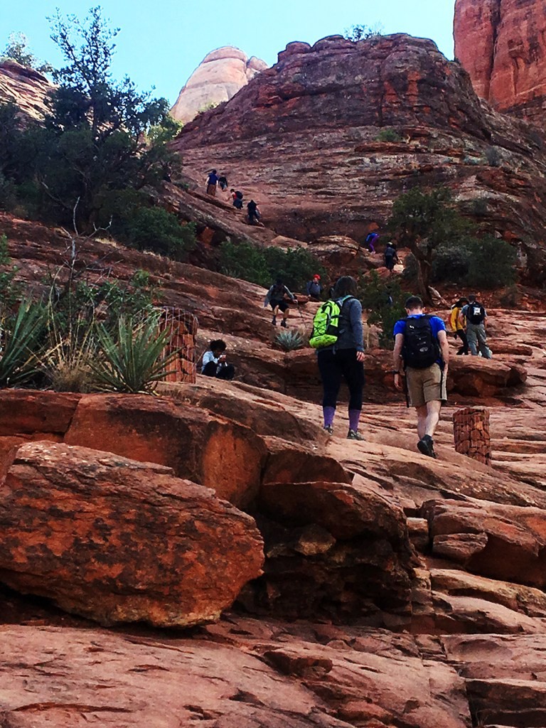 Cathedral Rock hike in Sedona, AZ