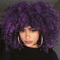 Bold Hair Color For Curly Hair | HerGivenHair