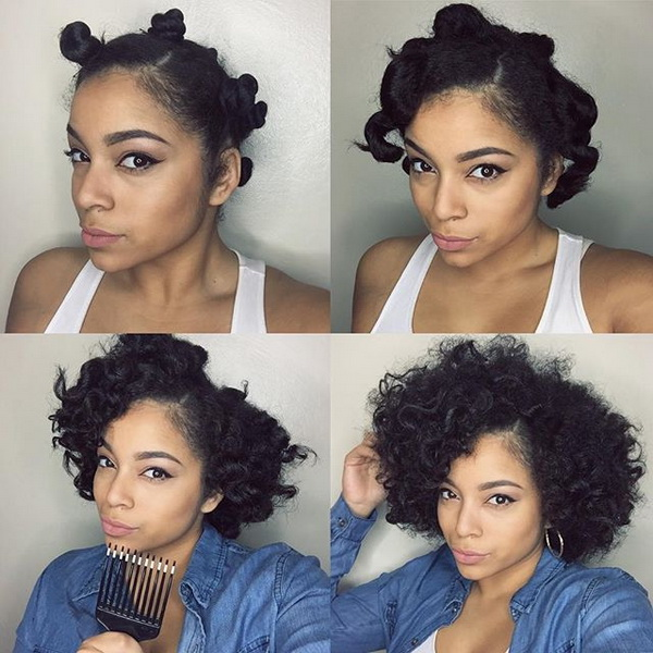 Easy Protective Styles HerGivenHair
