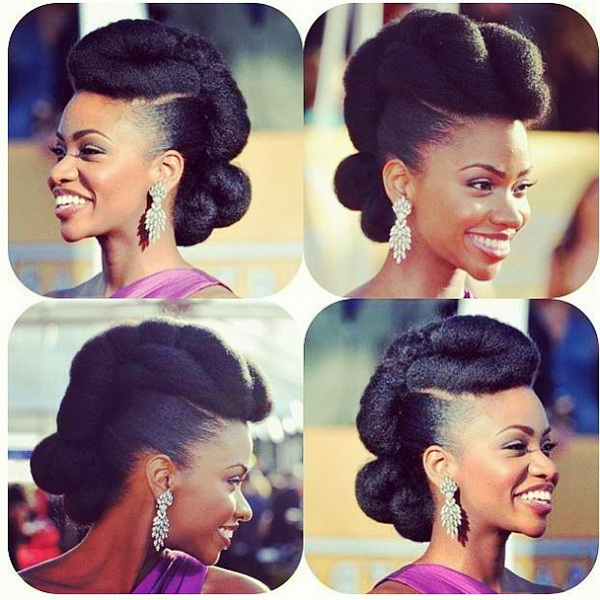 7 Superb Natural Hair Bridal Hairstyles For Summer Weddings