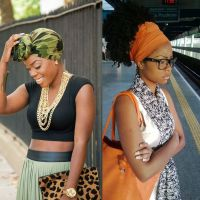 Natural Hair Trend: Hair Scarves / Wraps for Summer 2016