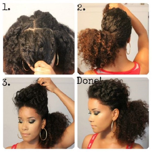 8 Quick & Easy Hairstyles On Medium Short Natural Hair