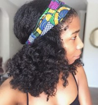 Natural Hair Styles With Scarves | www.pixshark.com ...