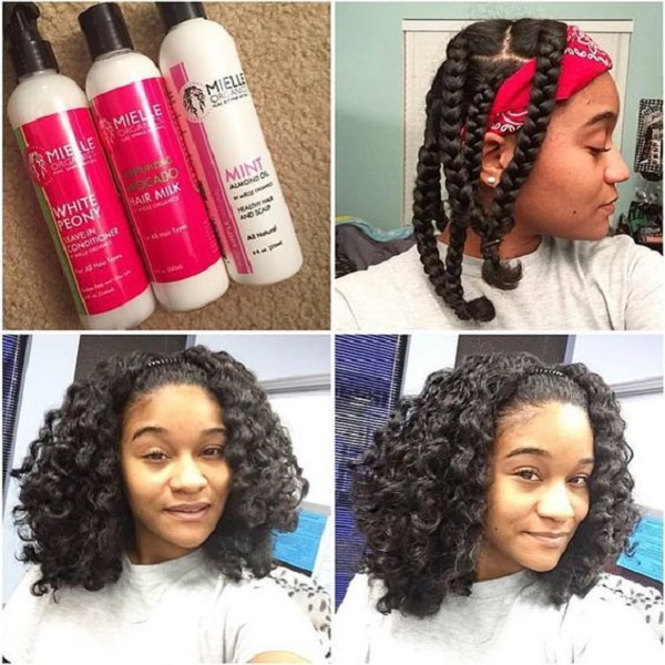 30 Natural Hairstyles Braid Out Hairstyles Ideas Walk The Falls