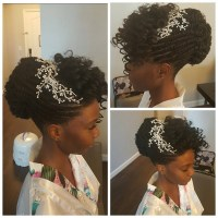 15 Superb Natural Hairstyles for Weddings