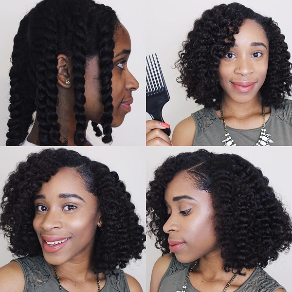 Hot Summer Natural Hairstyles HerGivenHair