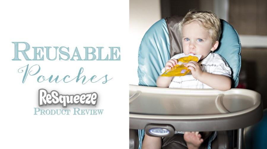 Resqueeze Reusable Pouches