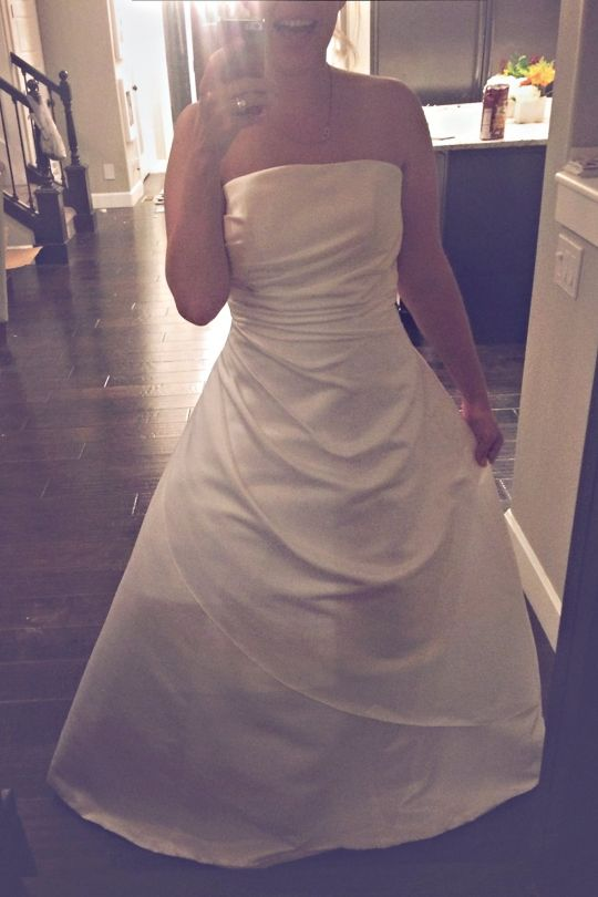 why i never cleaned my wedding dress brittney kluse