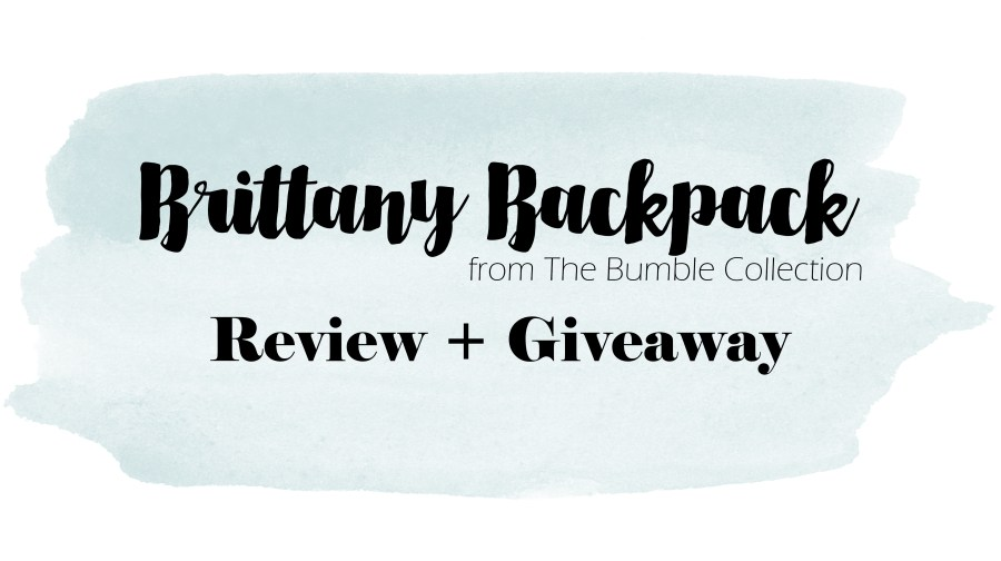 the bumble collection brittany backpack
