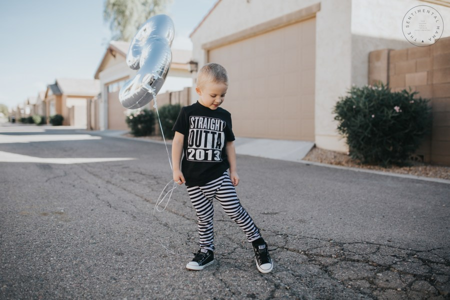 Straight Outta 2013 | An open letter to my three year old son