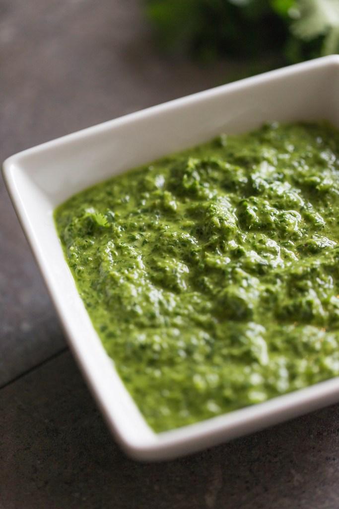 green onion sauce