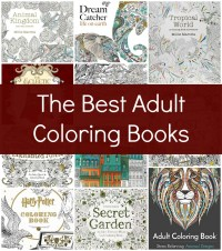 The Best Adult Coloring Books - Her Heartland Soul