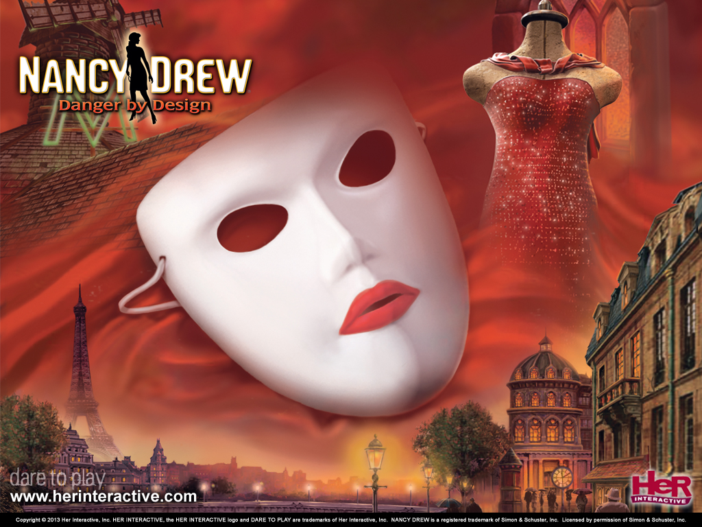 Buy Nancy Drew Danger by Design Clue Game  Her Interactive