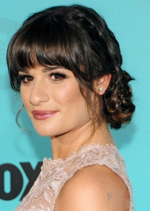 Hairstyles With Bangs For Square Faces