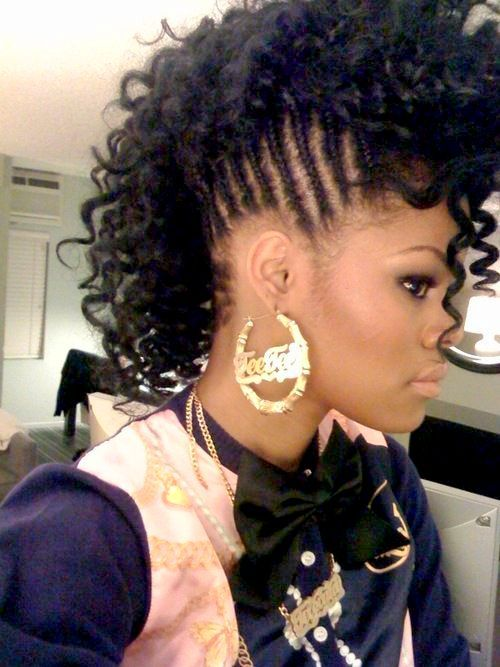 50 Best Natural Hairstyles For Black Women Herinterest Com